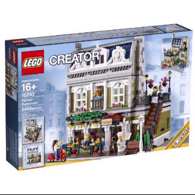 RESERVED- Lego Parisian Restaurant 10243