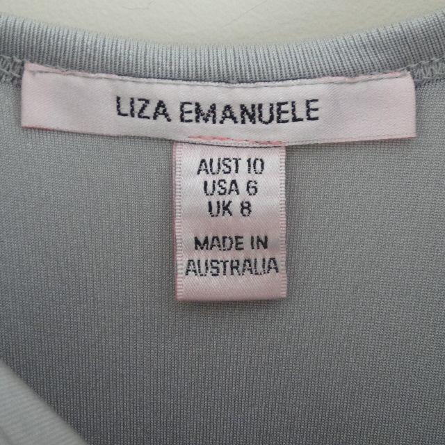 Liza Emanuele Silver Dress