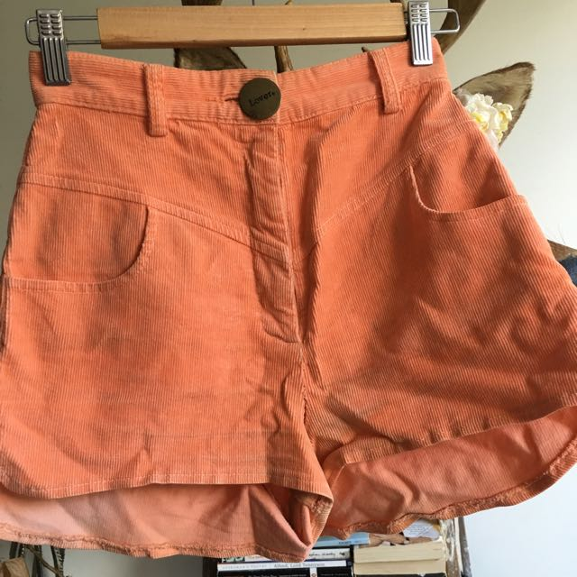 Lover Corduroy Shorts