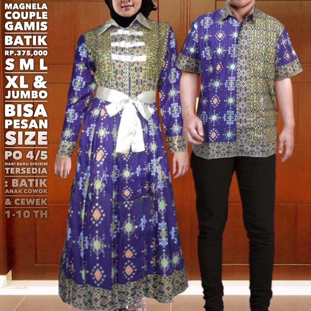 Magnela Couple Gamis Rp 375 000 Women S Fashion On Carousell