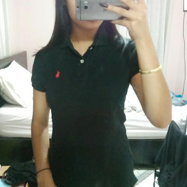 Small Black Ralph Lauren Polo Shirt