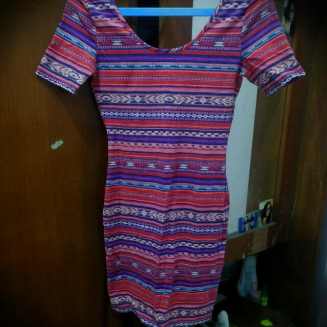 Tribal Dress By Forever 21