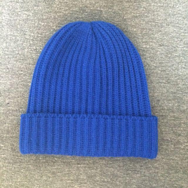 Uniqlo💙深藍色毛帽❄️