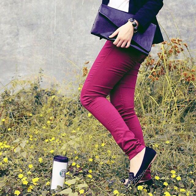 Zara Glitter Clutch.