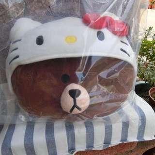 🎀出清絕版ⓚⓘⓣⓣⓨ&熊大 抱枕🎀