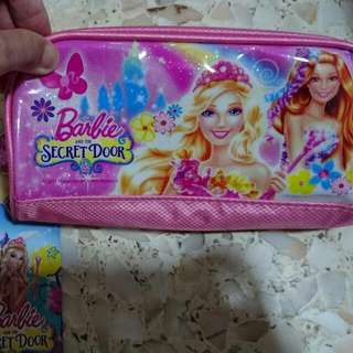 Barbie Doll Pencil Case-BNT