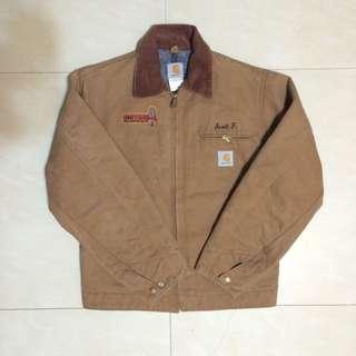 vintage 80s Carhartt 早期美製厚磅經典駝工裝外套 古著
