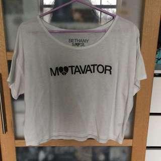 Aeropostale Motavator Bethany Mota Collection Shirt