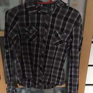 Bluenotes Plaid Long Sleeve