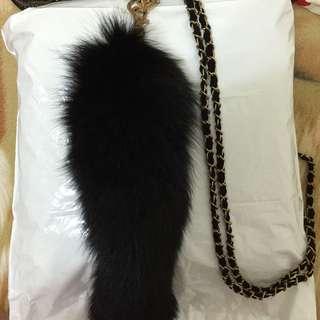 日牌Murua毛毛吊飾背帶