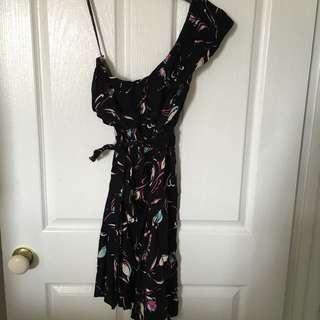 Mink Pink Off Shoulder Dress