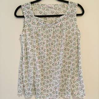 Loose Fit Floral Tank