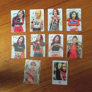 Fanmade/Unofficial TWICE The Story Begins Photocards