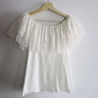 Layered Lace Top Size6-8
