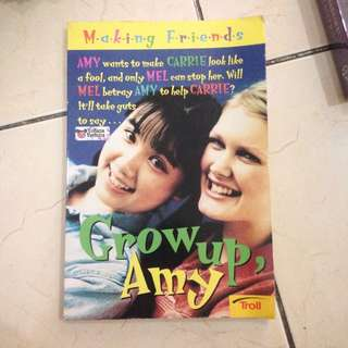 GROW UP, AMY By Kate Andrews