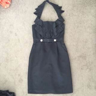 Cooper St black cocktail dress size 6