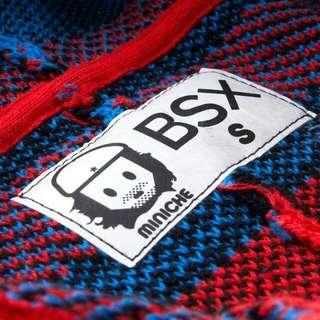BSX針織外套 斗篷