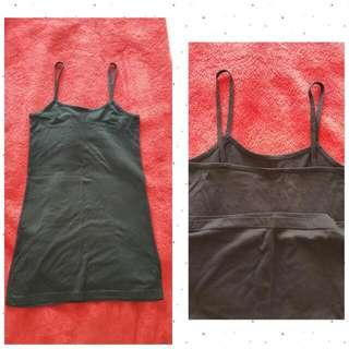 Basics - Black singlet/dress