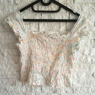Benetton Crop Top
