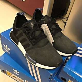 黑藍 nmd adidas Running Uk8.5 US9.5 26.5cm