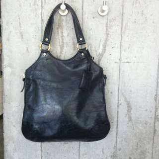 *RESERVED* Yves Saint Laurent YSL Tribute Bag In Black Patent