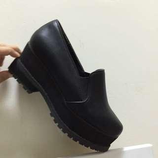 降✨日本 Jeanasis 黑色厚底鞋 #交換最划算