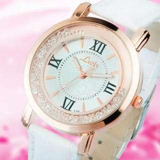 水鑽羅馬時尚女錶