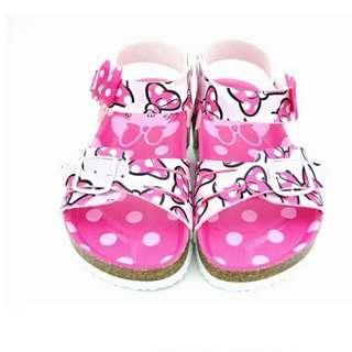 迪士尼女童米妮涼鞋