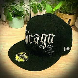 New Era Mlb美國職棒 芝加哥白襪隊 嘻哈潮流街頭全封棒球帽