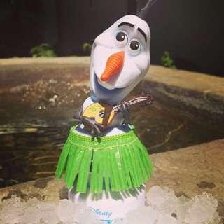 美國 迪士尼 商店 冰雪奇緣 雪寶 艾莎 安娜 公仔 收藏變賣