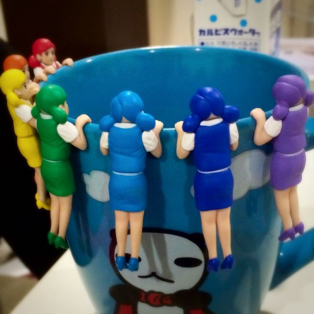 販賣彩虹杯緣子僅擺飾