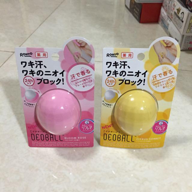 日本止汗膏 體香劑