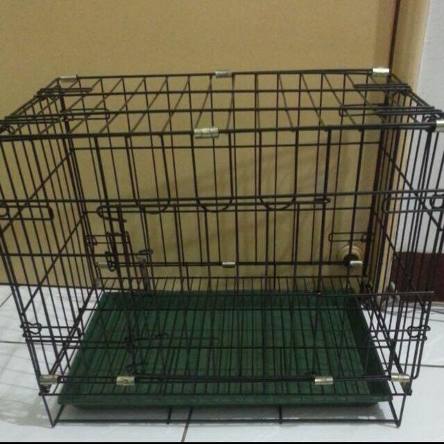 鐵製折疊狗籠