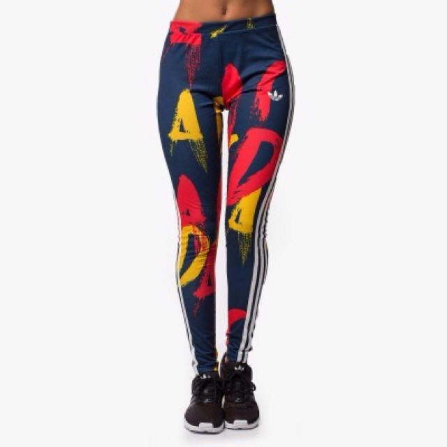 Adidas legging paris print original/celana/leging Running