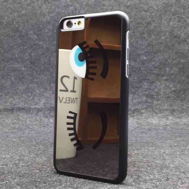 Apple iPhone 6/6s 眨眼睛鏡面手機殼