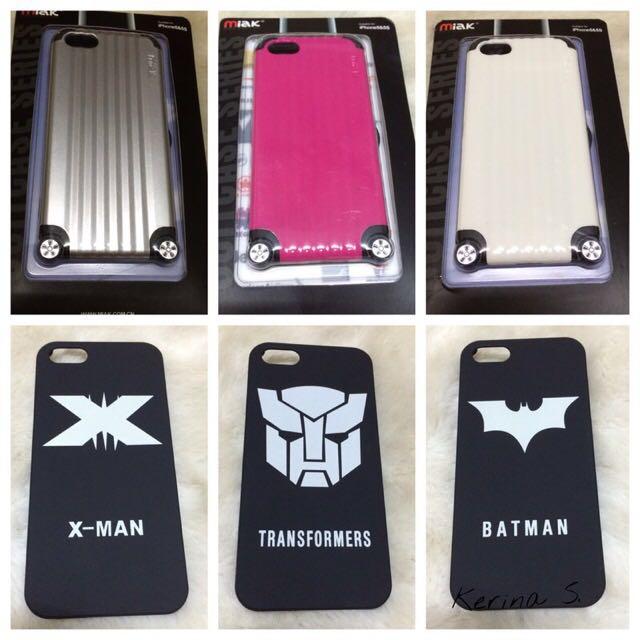 Apple iPhone i5s 行李箱、X-man、Batman、變形金剛手機殼