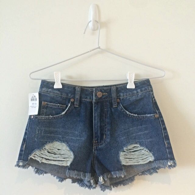 BRAND NEW Dotti High Waisted Denim Shorts