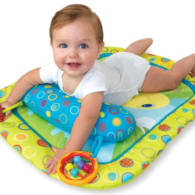 db4173f43fd3e Bright Starts Tummy Time Prop and Play Mat, Babies & Kids on Carousell