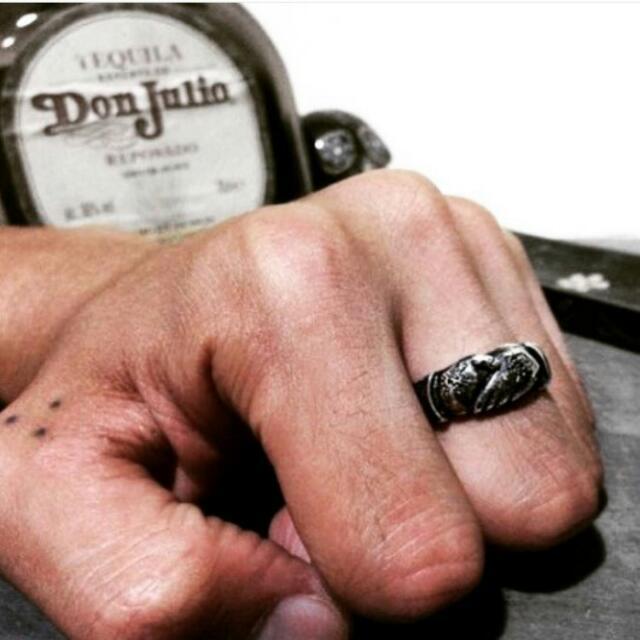 "Cabron ""POSSE UP"" Ring 和平之手 戒指"