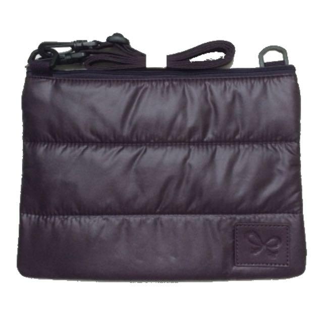 喜舖CiPU萬用空氣雙層包 側背 深紫色(全新)