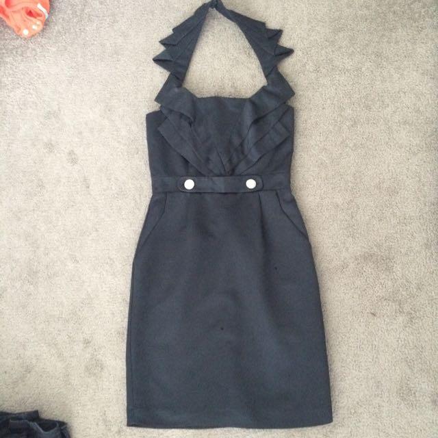 Cooper St black cocktail dress size 6