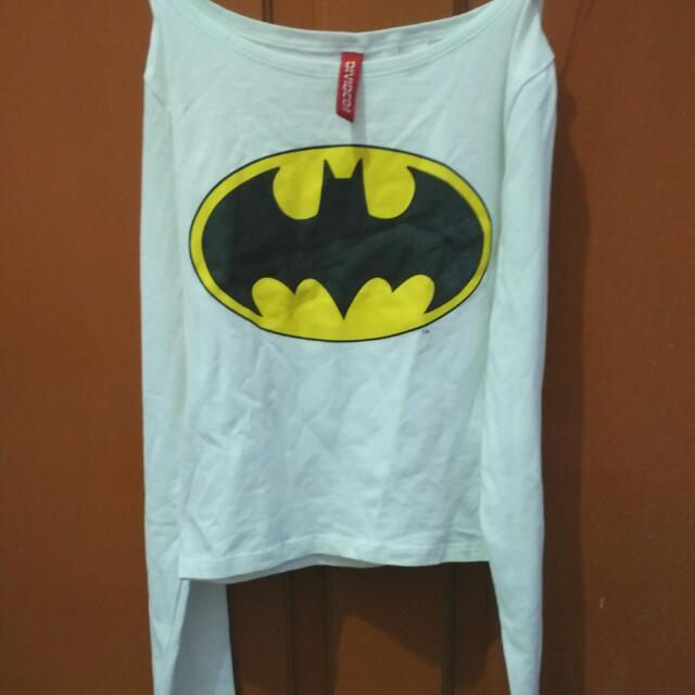 Croptop Batman H&M