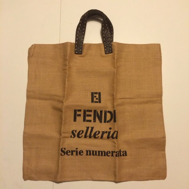 0979d346f218 Fendi Linen BYOB (Bring Your Own Bag) 環保袋