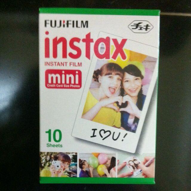 富士FUJIFILM INSTAX空白底片 拍立得底片 10張入