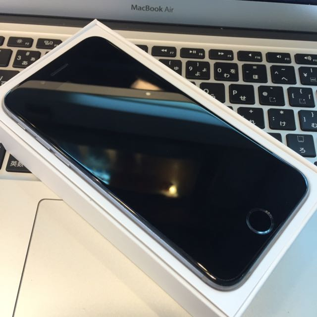 iPhone 6 16G 灰 保固中