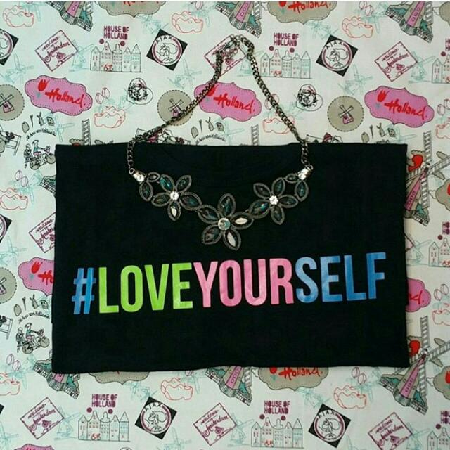Kaos Cewek Love Yourself