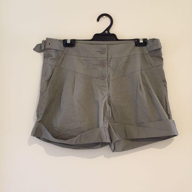 Khaki Brown Shorts