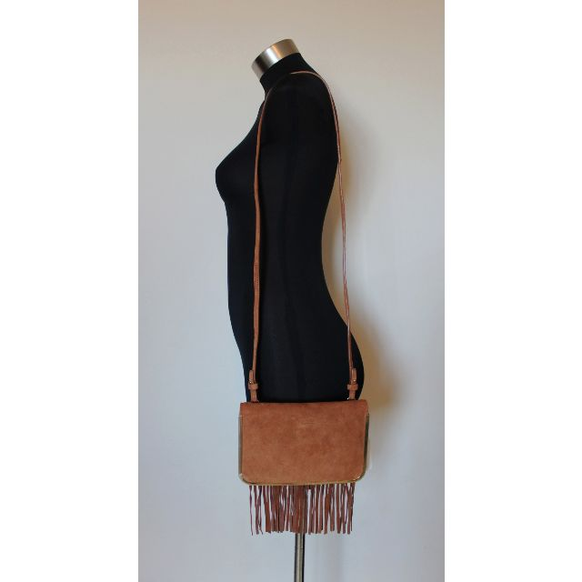 NEW* COUNTRY ROAD SUEDE LEATHER CROSS BODY / CLUTCH BAG