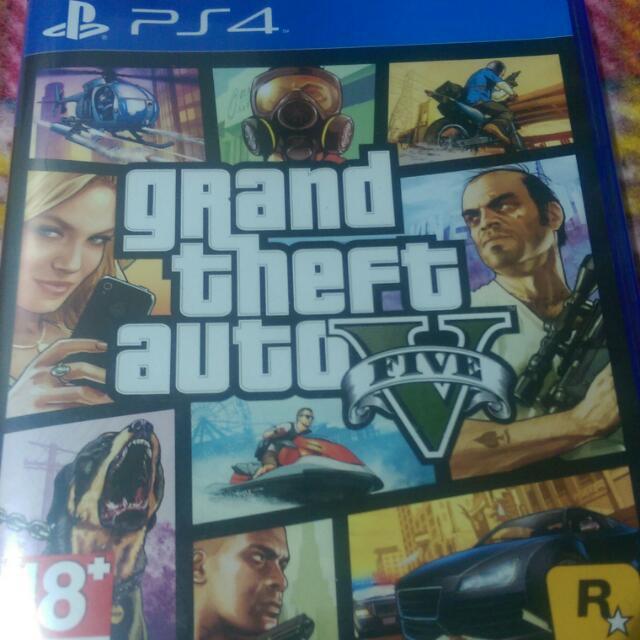 PS4 GTA5中文版《二手》含運