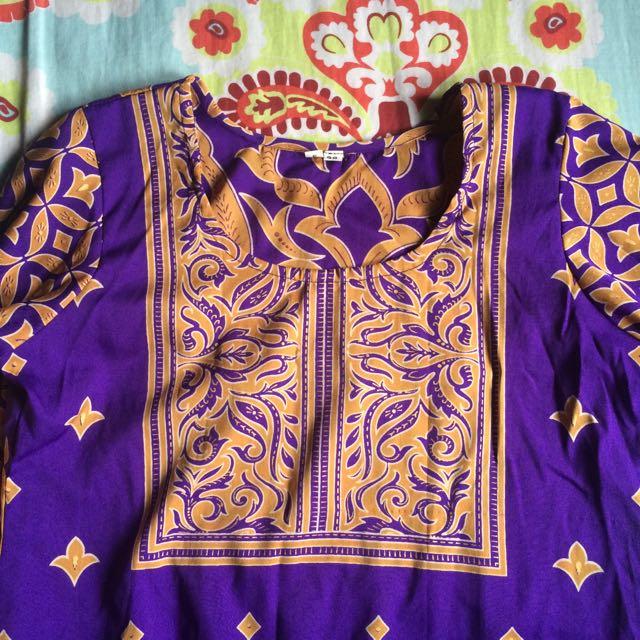 Purple Kurti